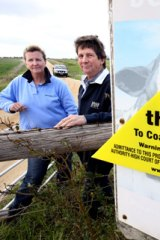 Julie and David Bolton are campaigning against coal seam gas.