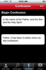 The confession app.