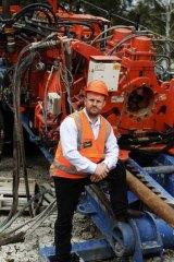 Non-work site … Tony O'Meley.
