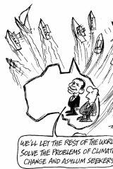 Tandberg's view of Tony Abbott's stances.