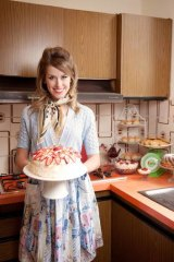 Sweet spot &#8230; Amy Lehpamer, of Rock of Ages fame, portrays Australia's most loved cookery writer in <i>Margaret Fulton: Queen of Desserts</i>.