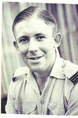 Flying Officer Bryan Rofe.