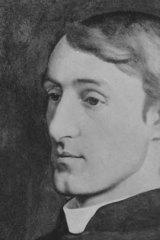 Poet Gerard Manley Hopkins.