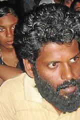 Alex, the spokesman for Tamil asylum seekers