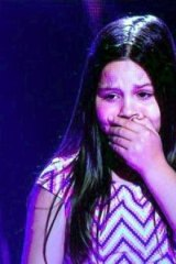 Tears flow when Romy, 12, did not get selected.