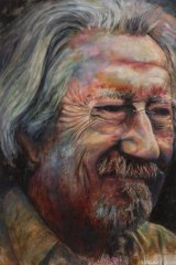 Bruno Jean Grasswill's portrait of actor Michael Caton has won the Archibald Prize's Packing Room Prize.