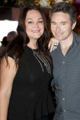 On the way out ... Kate Langbroek and Dave Hughes are finished with Nova, for now.