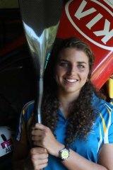World Champion white water kayaker Jessica Fox.