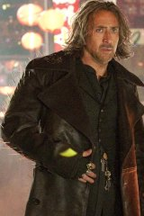 Nicolas Cage as Balthazar ... in New York on a mission to save the world.