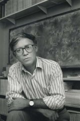 Pure maths . . . Alf van der Poorten tackled Fermat's Last Theorem.