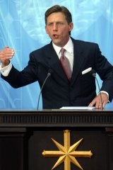 Scientology leader David Miscavige.