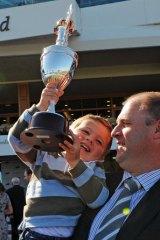 Danny O'Brien with son Thomas.