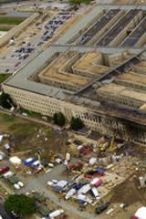 Devastation ... The aftermath of the 9/11 attack on the Pentagon.