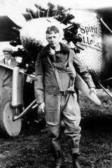 Epic: With his trans-Atlantic flight Charles Lindbergh became a hero.