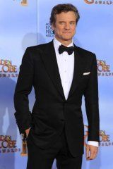 Colin Firth at the 69th annual Golden Globe Awards.