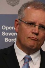 Immigration minister Scott Morrison.