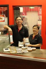 Riselle and Brian Woodford of Sataylicious.