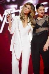 The Voice judges Delta Goodrem and Jessie J.