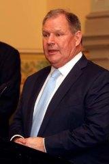 Re-elected: Robert Doyle.