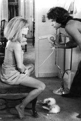 Warren Beattie and Julie Christie in <i>Shampoo</i>.