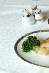 The pan-fried Patagonian toothfish.