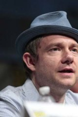New hobbit ... Martin Freeman plays the character of Bilbo Baggins.