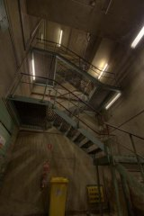 Inside the Russell Place substation