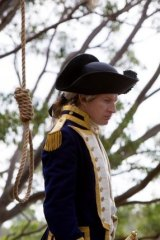 Penal justice: David Wenham steps into Governor Arthur Phillip's shoes in the Jimmy McGovern-penned Banished.