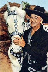 Actor William Boyd played TV cowboy Hopalong Cassidy.