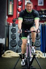 Matt Fuller hopes to ride 500 kilometres in 24 hours to raise funds for Telethon.