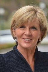 Condemnation: Julie Bishop has warned Clive Palmer.