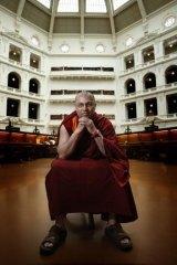 Clarke Scott, in 2008, when he was a Buddhist monk named Loden Jimpa.
