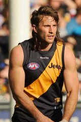 Difficult ankle: Richmond weighed up the timing of Ivan Maric's operation.