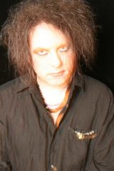 Robert Smith from The Cure.