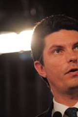 Pleased: Greens senator Scott Ludlam.