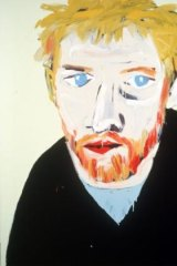 Adam Cullen's winning portrait of actor David Wenham in 2000.