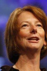 The then deputy prime minister, Julia Gillard in 2009.