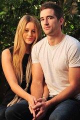 Daniel Bell with girlfriend Jayde Purtell.