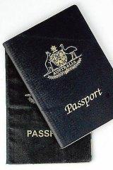 Australian passport.