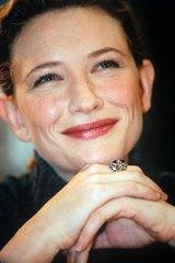 In <i>Vogue</i> ... Cate Blanchett.