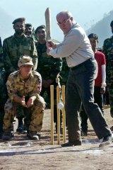 Hit for six ... John Howard may be denied cricket's top job.