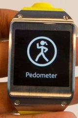 Samsung's Galaxy Gear smart watch.