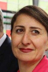 Gladys Berejiklian ...  no increase.
