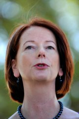 Julia Gillard ... empowering parents.