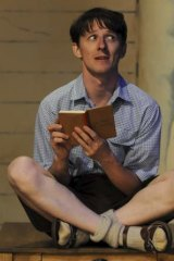 Mathew Whittet performs in <i>The Book of Everything</i>.