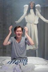 Top billing: Luke Mullins and Paula Arundell in <em>Angels in America</em>, winner of Best Play.