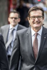 The head of South Australia's car industry taskforce, former federal Labor minister Greg Combet.