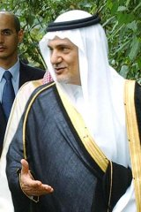 Prince Turki al-Faisal.