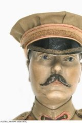 Doll face: Lord Kitchener's noble effigy was the subject of Toby jugs, statuettes and souvenirs galore.