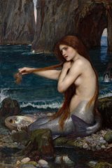 A John William Waterhouse picture from the Royal Academy exhibition at Bendigo Art Gallery.